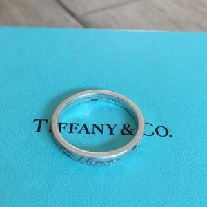 I love you Tiffany and CO ring size 6